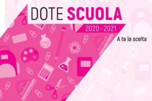 DOTE SCUOLA REGIONE LOMBARDIA A.S. 2020/21