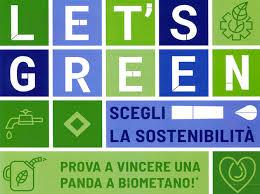 """PARTECIPA AL CONCORSO """"LET'S GREEN!""""…LA SOSTENIBILITA' E' LA CARTA VINCENTE."""