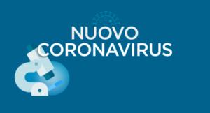 CORONAVIRUS – NUOVE DISPOSIZIONI