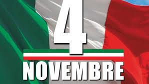 CELEBRAZIONI PER LA RICORRENZA DELLA FESTA DELLE FORZE ARMATE 2020 – 8 novembre 2020.