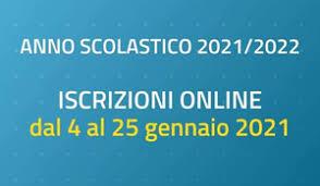 ISCRIZIONI SCOLASTICHE 2021/2022
