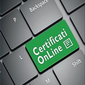 Rilascio certificati on line