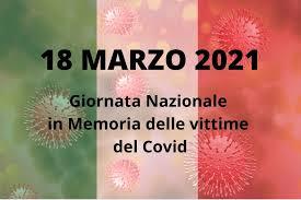 18 MARZO 2021- Giornata nazionale in memoria delle vittime dell'epidemia da coronavirus