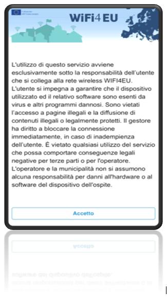 Termini e condizioni servizio WIFI4EU