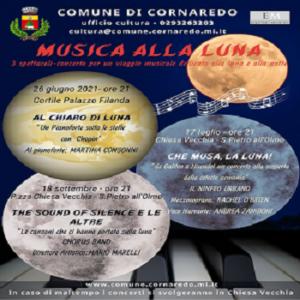 MUSICA ALLA LUNA – rassegna musicale estiva 2021