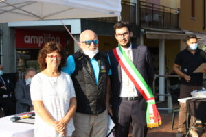 Foto di premiazione di Gianfranco Caleffi