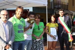 Foto premiazione degli amici del Cortile