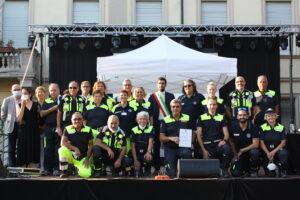 Foto premiazione Protezione Civile - Cornaredo